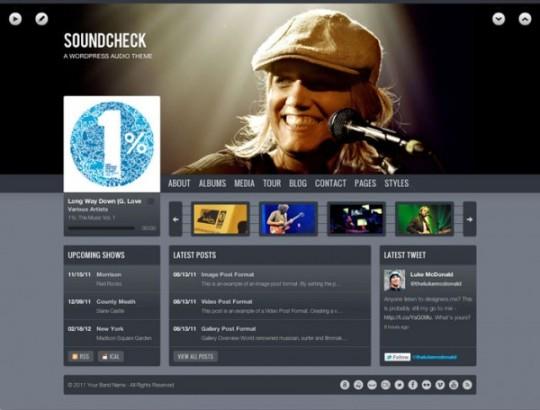 Soundcheck WordPress Theme