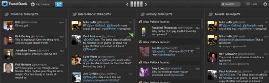 Tweetdeck for Twitter - Mike Jeffs Online Marketing Blog